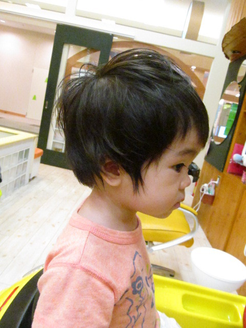 子供 髪型 女の子 ショート くせ毛